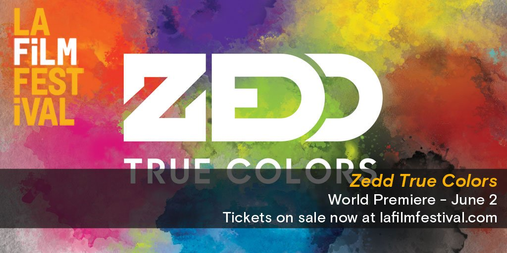 @Zedd We can't wait to world premiere your film at the #LAFilmFestival! Tickets at https://t.co/fLqcOzJX8N https://t.co/IJLzGaknSD