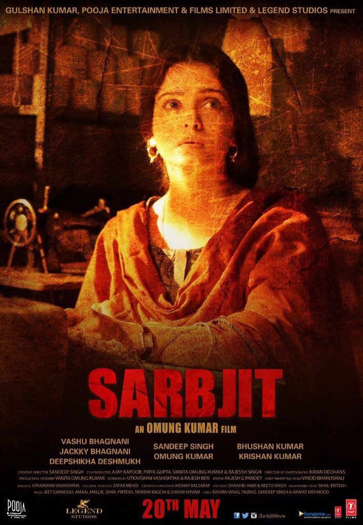 Nothing can prepare you for @SarbjitMovie every bit an exceptional film. Huge admiration for all involved 10/10 https://t.co/IUkQMPjGvt