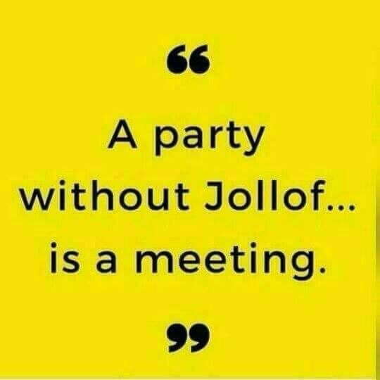 #GhanaJollof
