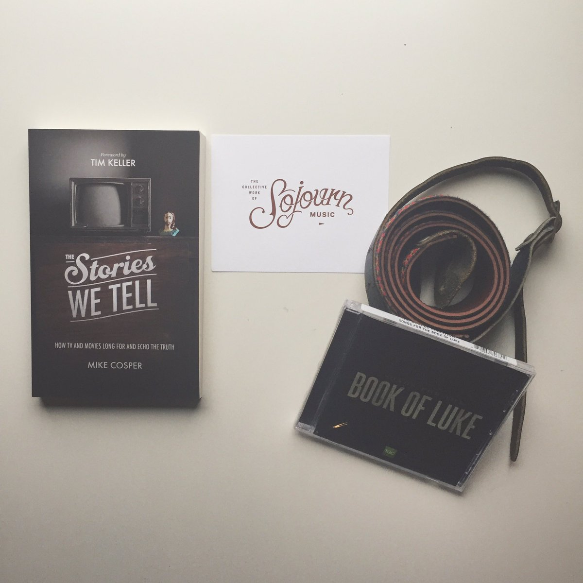 """GIVEAWAY! @MikeCosper's """"The Stories We Tell"""" + our collaborative record w/@TGC —>Follow us & RT by 5/23 to enter! https://t.co/gm14QtWXCP"""
