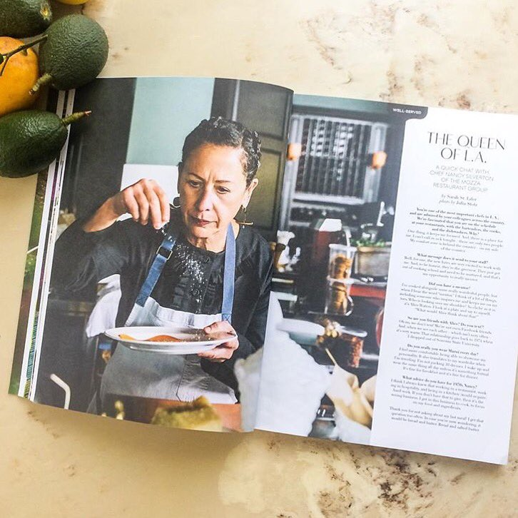 Loved this beautiful feature on our @NancySilverton in @cherrybombemag's issue no. 7