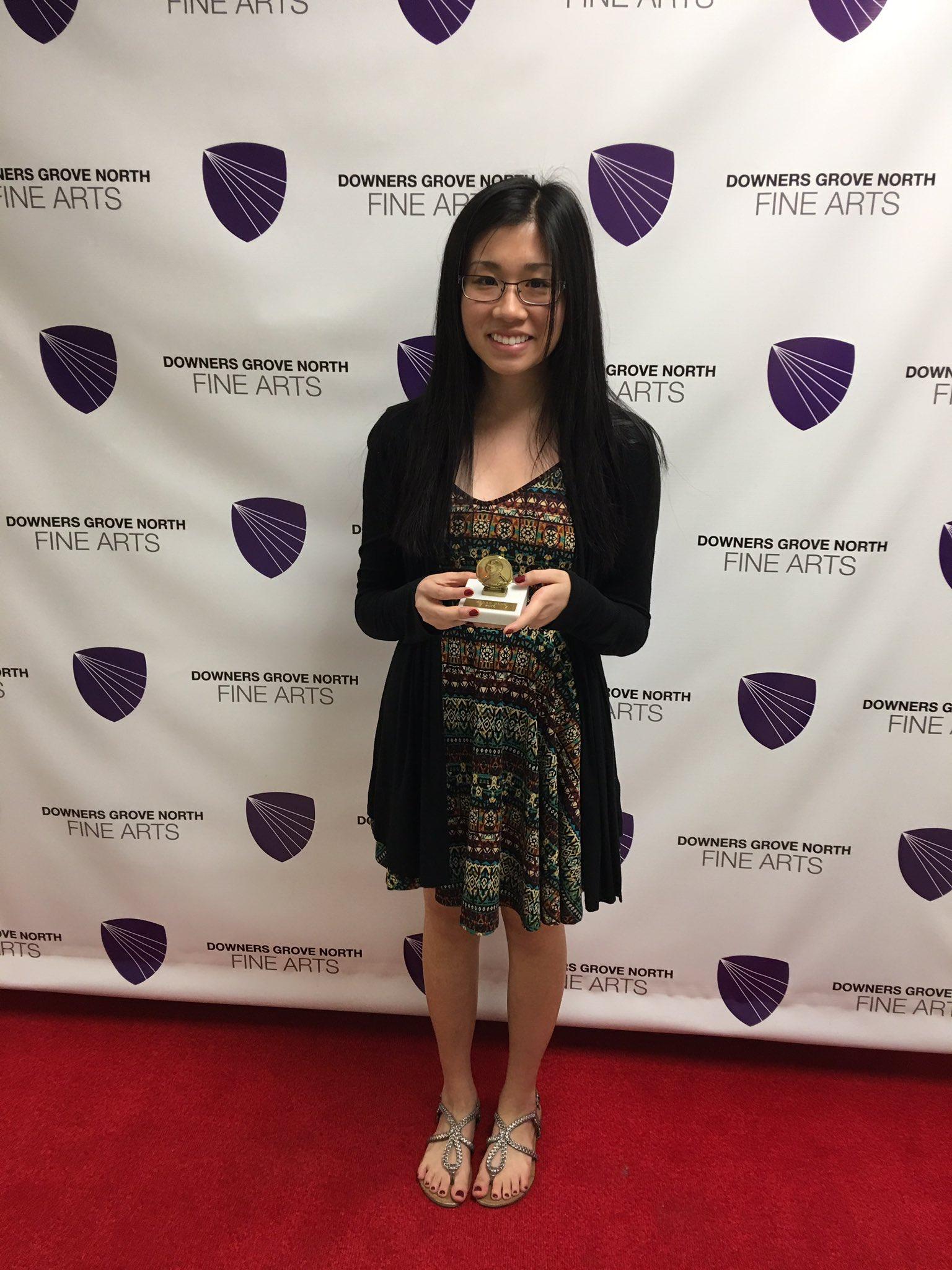 2016 John Phillip Sousa Band Award: Megan Hung #WeAreDGN #99Learns https://t.co/7tTPUI4aZS