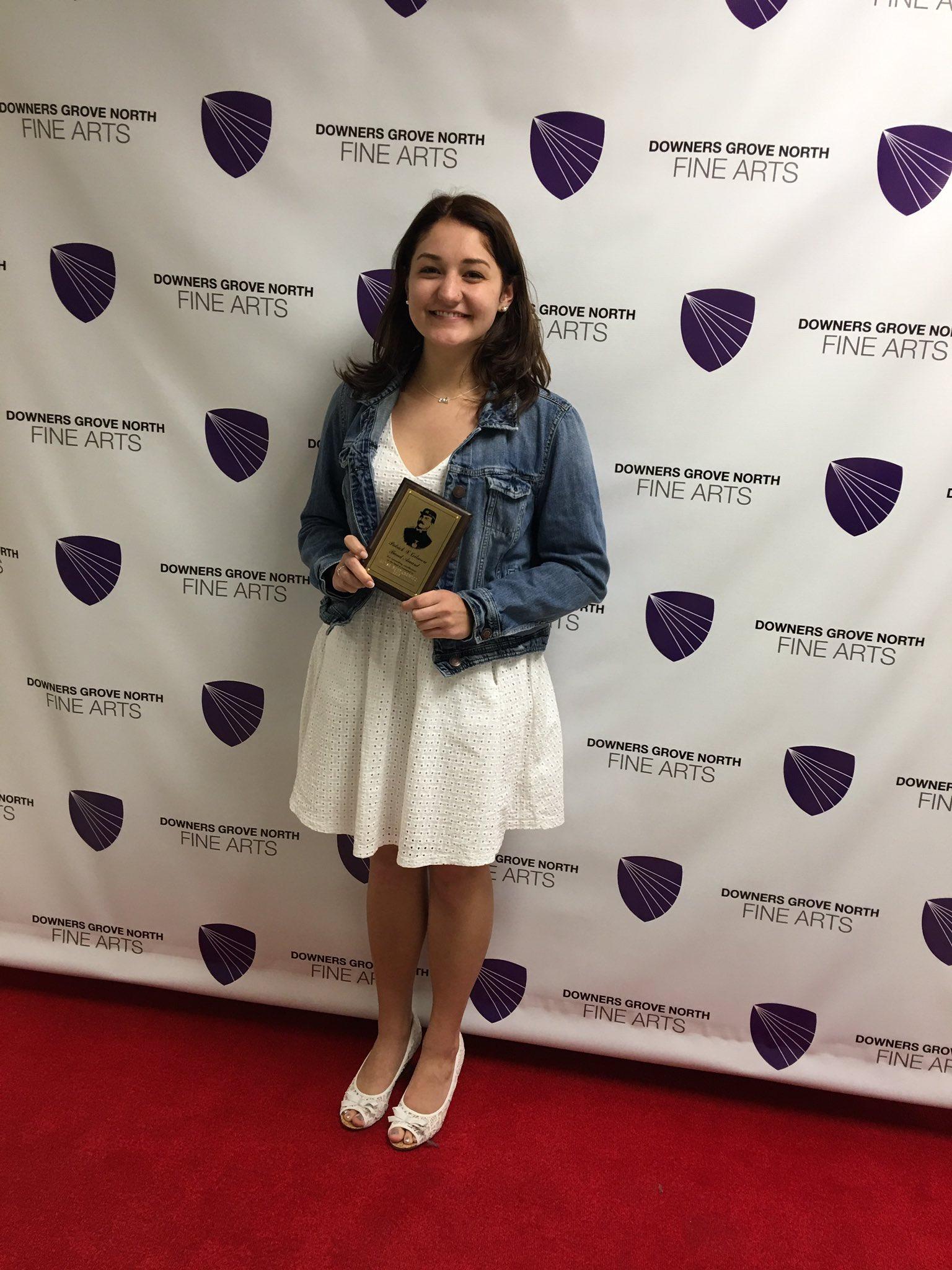 2016 Patrick S. Gilmore Band Award: Alyse Bondarowicz #WeAreDGN #99Learns https://t.co/wnTJtY2GlF