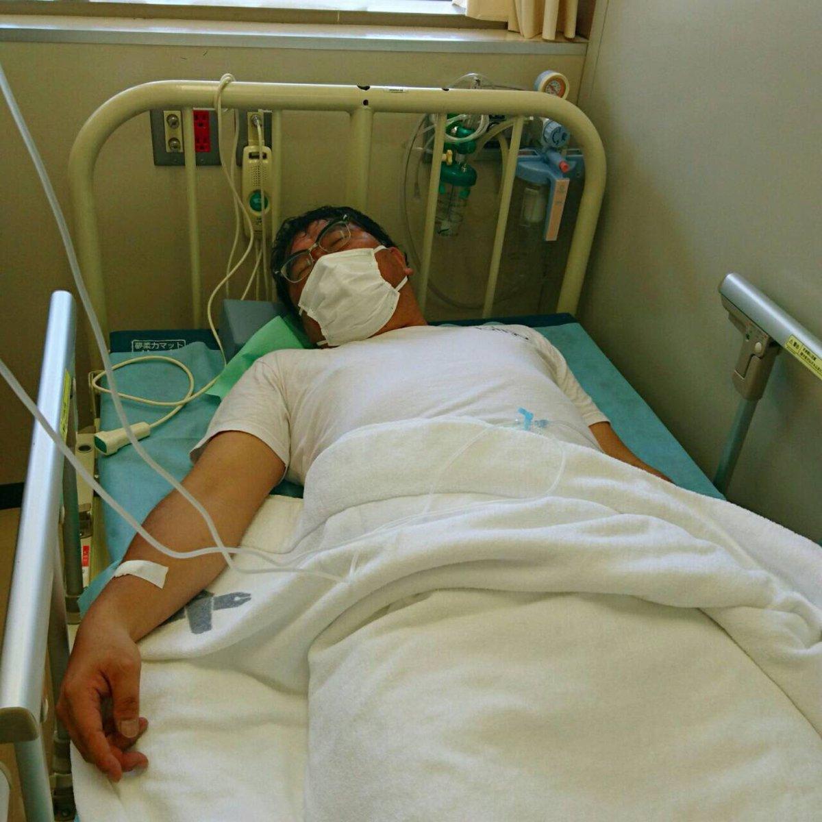 急性喉頭炎と言う病気になり熱が凄いので半日入院してました! まだ熱があるので本日は仕事休みます! 関係者各位どうもすみません! インフルエンザの疑いは全くありませんとの事。良かった。明日から働きます。ではまた寝ます、 https://t.co/tjTKdsHoaR