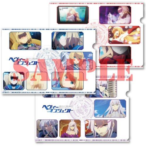 とらのあなのBD&DVD1~4巻連動特典と5~8巻連動特典はそれぞれオリジナルクリアファイル3枚セットです。絵柄
