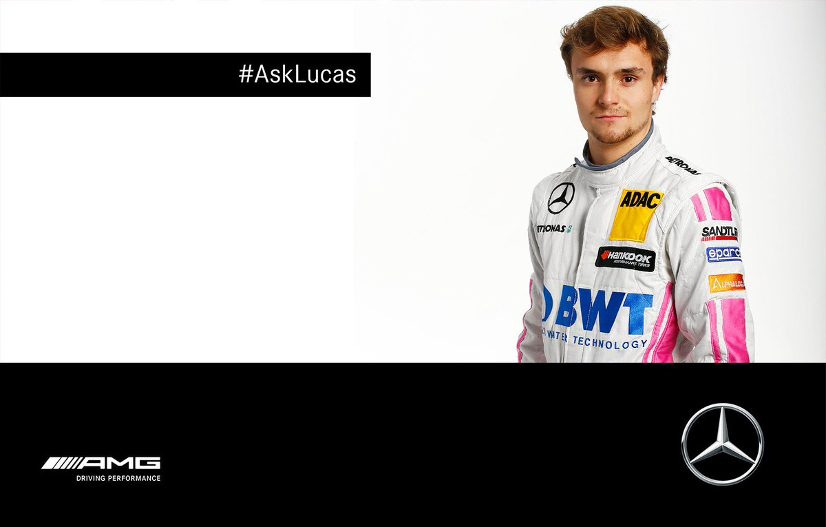 RT @MercedesAMGDTM: By the way, don't forget your questions for #LA22! Submit'em till Friday by using the hashtag #AskLucas. #DTM https://t…