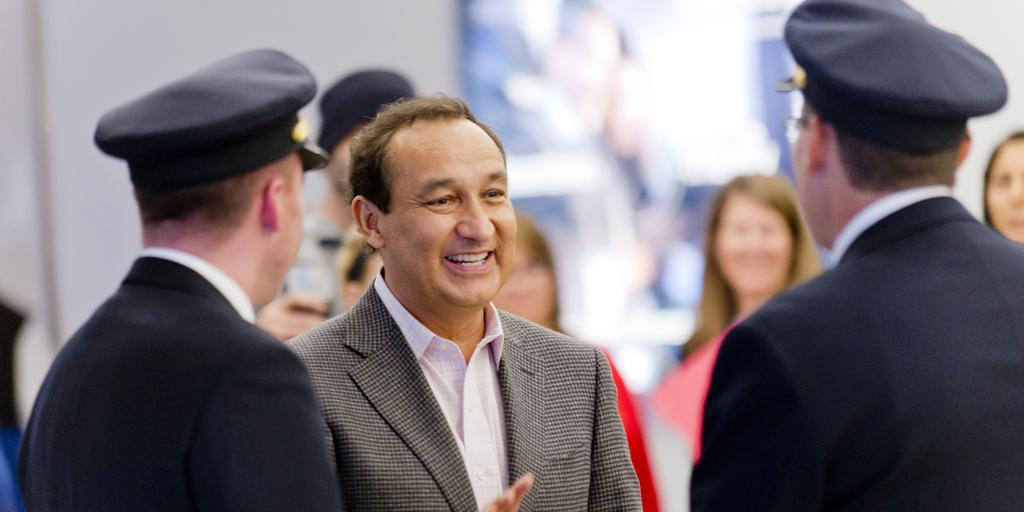 RT @united: A message from our President and CEO Oscar Munoz.
