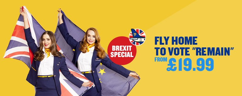 £19.99 sale on flights to the UK from midnight so Brits can fly home to vote