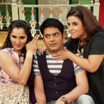 RT @TheFarahKhan: Madness happened!! With @MirzaSania n @KapilSharmaK9 on the Kapil show!! https://t.co/y4s3cDYMmH