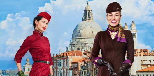 .@Alitalia has unveiled their new uniform. Find out more: