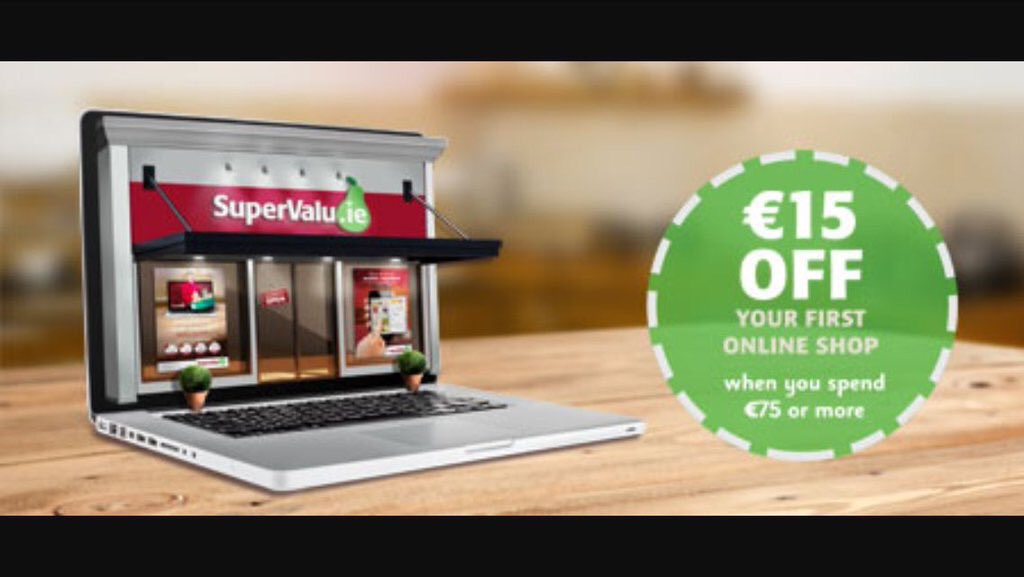 Did you know you can get €15 off your 1st Online Shop with us! Go to SuperValu.ie to shop #TrulyIrish https://t.co/7yxwBRVqYz