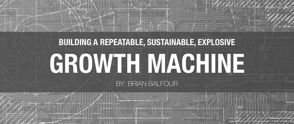 Launched the first in a series of 40 (yes 40) posts - Building A Growth Machine Step by Step https://t.co/S81ZtaeDVD https://t.co/zzs2Q15Tn3