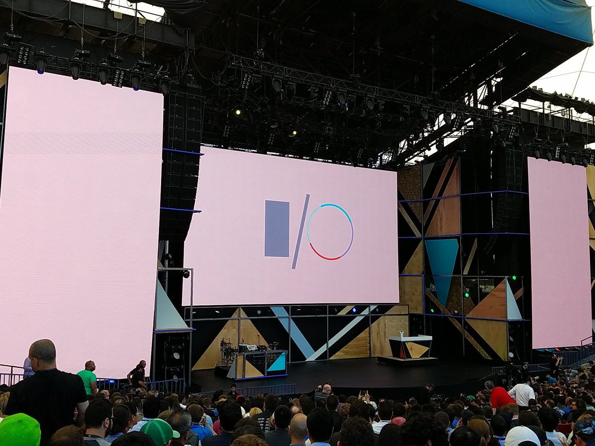 Liveblog: Google I/O 2016 Keynote Address
