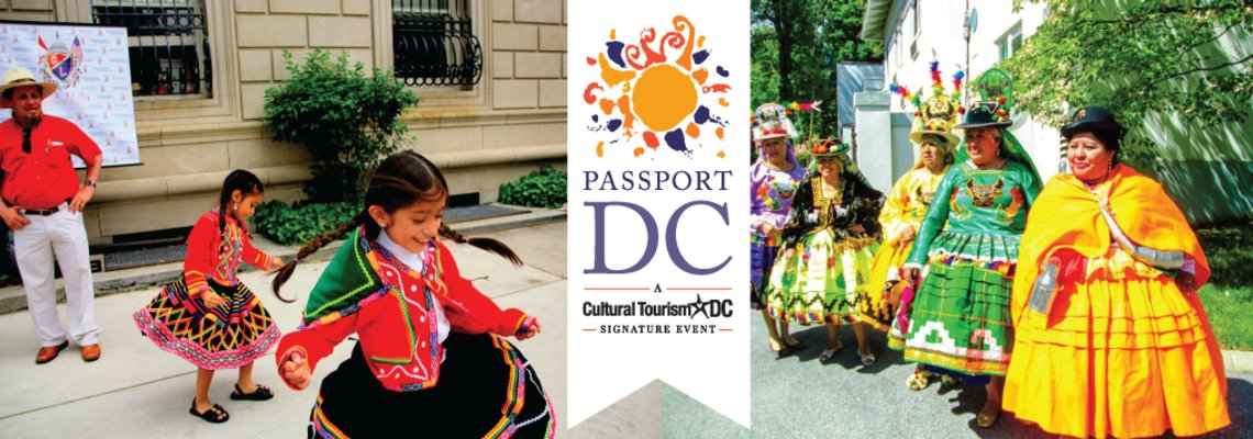 DidYouKnow PassportDC is 31 days of programming in DC by 70 embassies. Learn more: