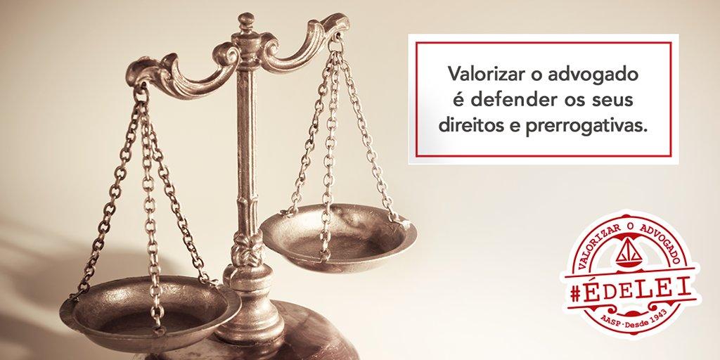 Valorizar os advogados é lutar pelos seus direitos e prerrogativas. Saiba mais: https://t.co/MhtnHNwpsc https://t.co/YVSlbtHMYP