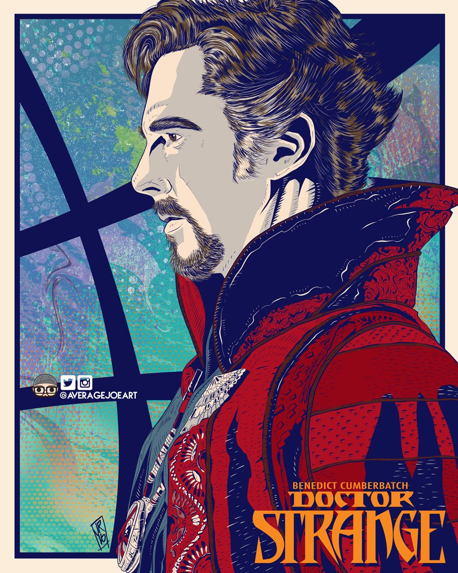 @DrStrange literally just finished this. Thought you'd like. Cannot wait for this movie. #DoctorStrange https://t.co/ZW1p8SdrPB