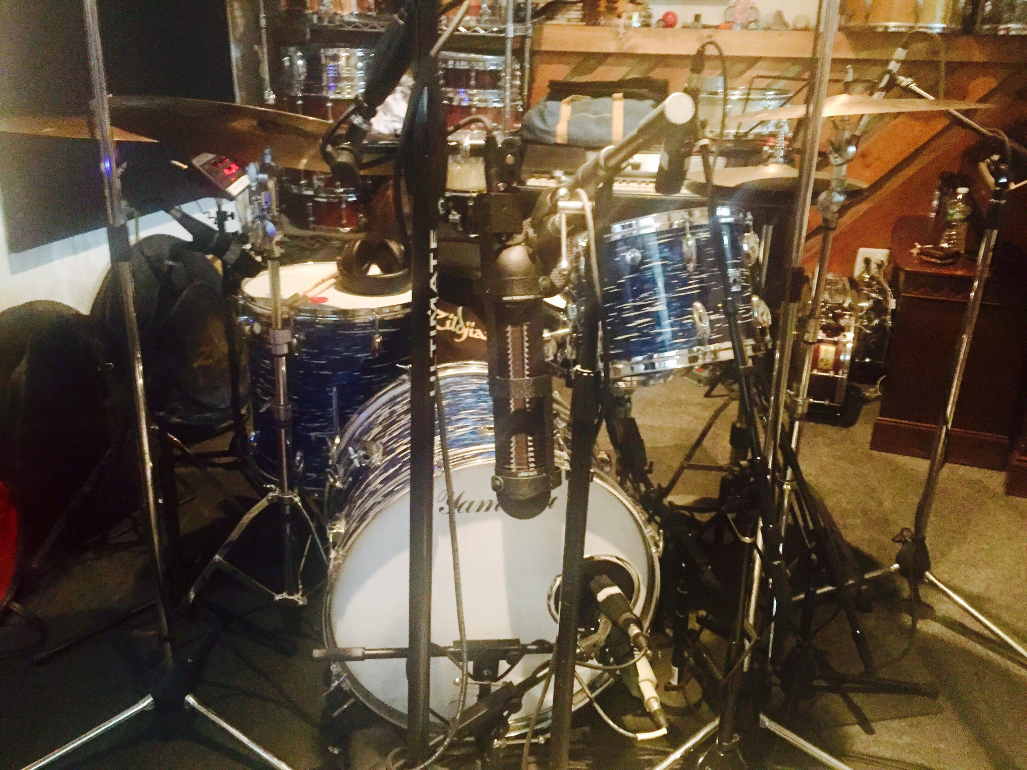 @YamahaDrums  loving this 1967 Yamaha kit.  Can't wait to check out the new recording series kit. https://t.co/gurwWswJZD