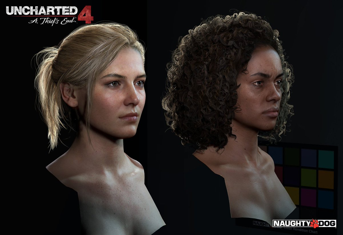Oh my goodness :O No wonder Uncharted 4 looks amazing. These models are top notch. More: https://t.co/wGsiuwU6iH https://t.co/YYX5haXHOC