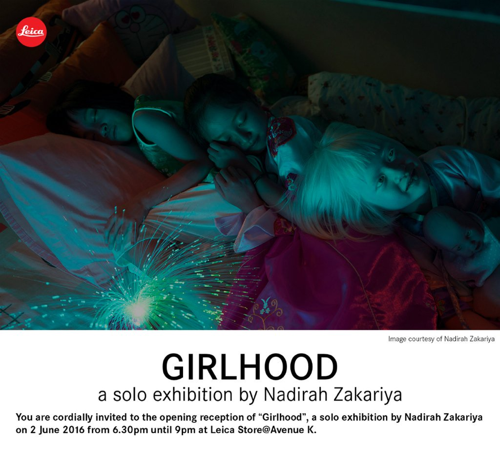 I am excited to invite you to my exhibition GIRLHOOD at the LeicaStore@AvenueK! RSVP https://t.co/WdiHfOQAiB https://t.co/VqVaSvjPCC