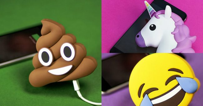 Topitruc Une Batterie Externe Pour Téléphone En Emoji Caca