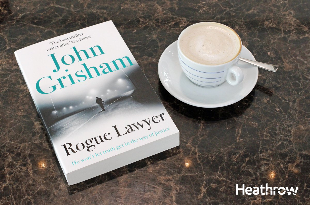 Read a taster of @JohnGrisham's Rogue Lawyer here: available at all LHR @WHSmith stores now!