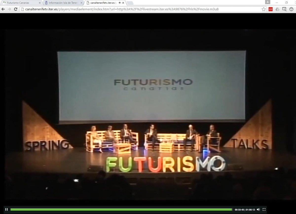 En este enlace pueden ver en grande el streaming de #FuturismoCAN https://t.co/Voz8XzMeDd https://t.co/VEfFm1X9HQ