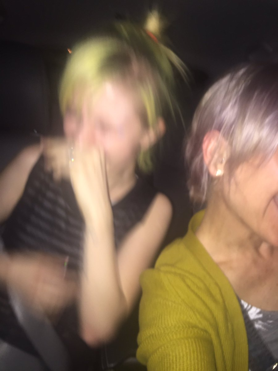 """Hey @yelyahwilliams this is my favorite photo from our """"selfies in traffic"""" photo shoot last night - says it all https://t.co/TB0lEorCp7"""