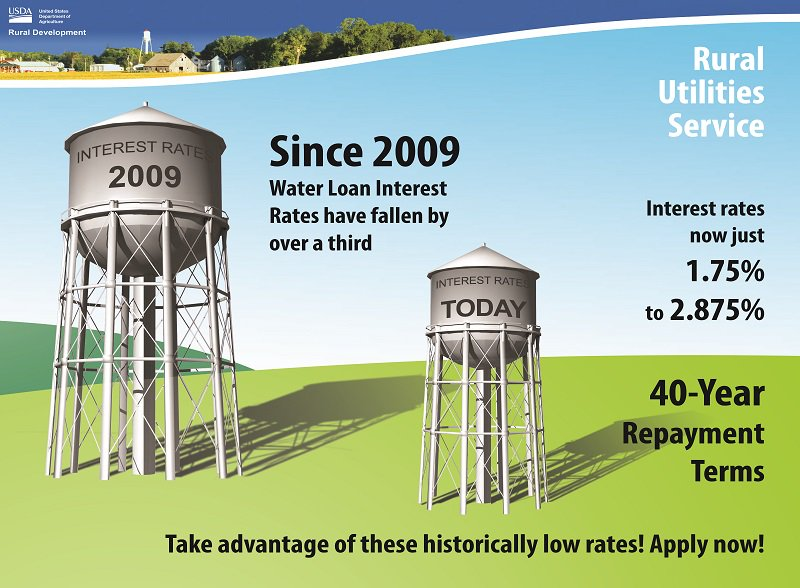Historically low interest rates are available for water projects thru 6/30.  Don't miss out! https://t.co/c7oahXPv8s https://t.co/LYmum4lMUD