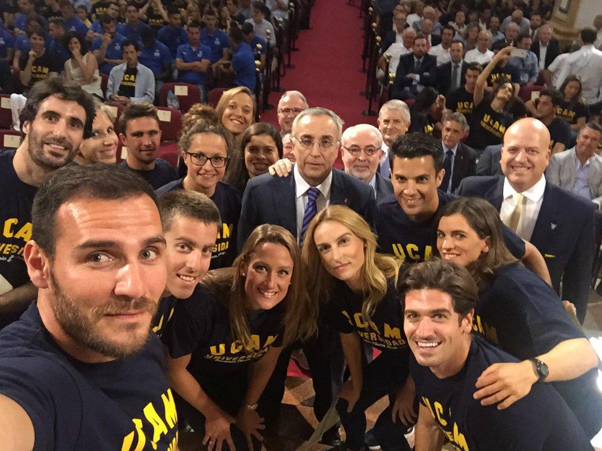 ¿Es posible juntar más talento olímpico en una foto?  #GalaDeporteUCAM @miss_belmont @COE_es  @MA_LopezNicolas https://t.co/E5uLgCP7jN