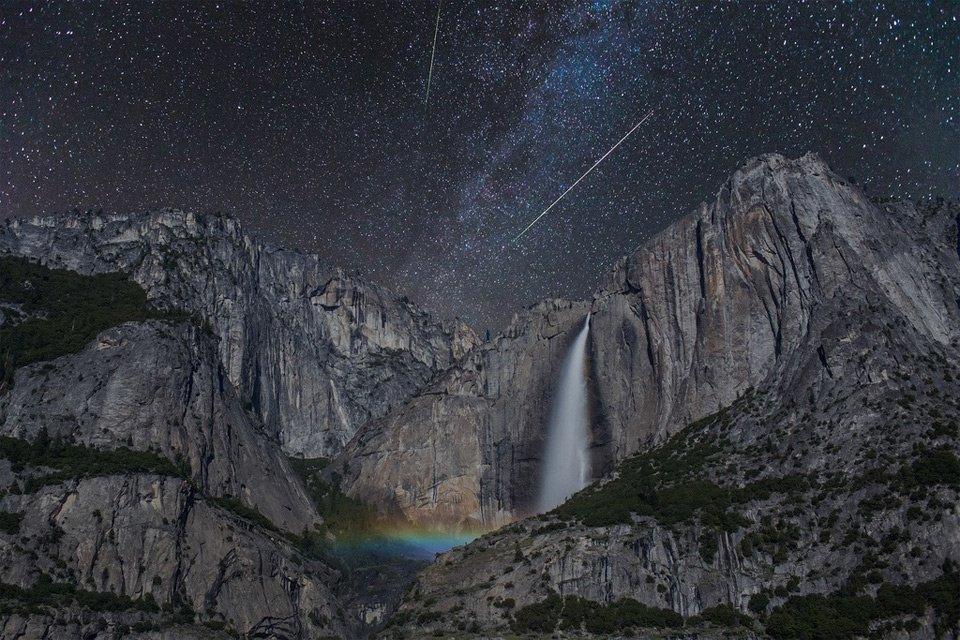 Night Sky Over Yosemite National Park, California | Photography by ©Chris Chabot https://t.co/dAjUysvkWy