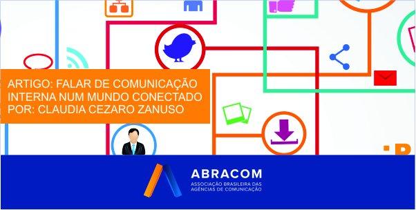 Artigo fala sobre comunicação interna num mundo conectado. Confira: https://t.co/FyrCgmn1WX https://t.co/QV7G1PIXQs