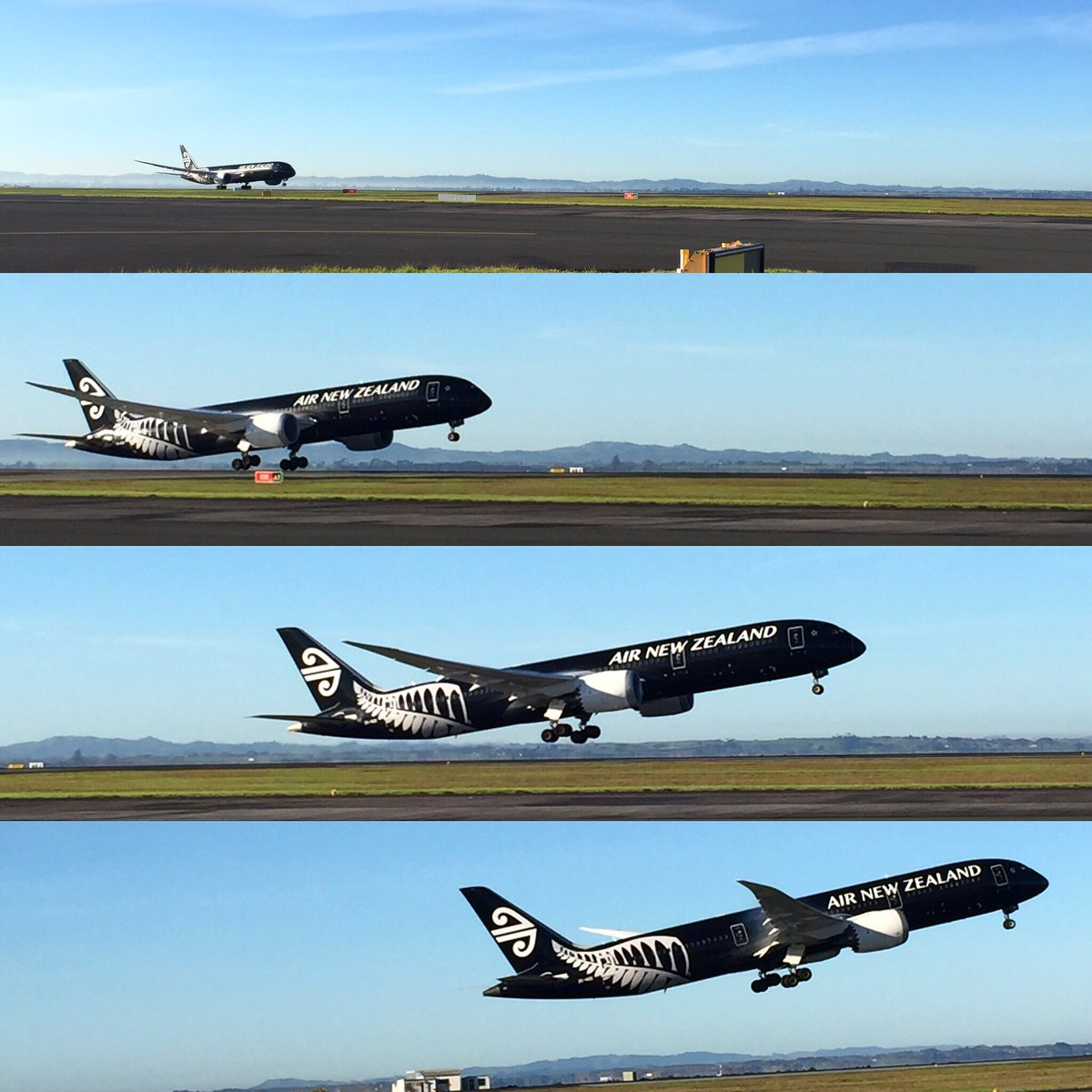 .@FlyAirNZ Dreamliner takeoff to Tokyo at Auckland Airport this morning https://t.co/oTP282NzSK