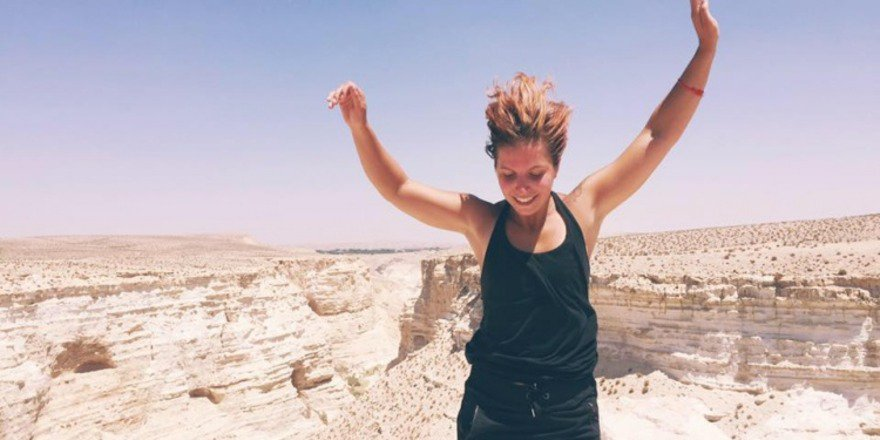 What's her ReasonToTravel to Israel? To connect with her roots: