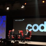Ford CEO Mark Fields kicks things off at #CodeCon. https://t.co/RHm8IJbOgC
