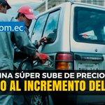 Gasolina súper sí sube de precio por el IVA del 14% en #Ecuador. Le contamos en… https://t.co/13fIQQsPFx https://t.co/2HALzKVeuM