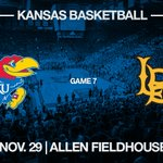 #kubball vs. Long Beach State ???? Tuesday, Nov. 29 ???? Allen Fieldhouse https://t.co/FgDYXnwiV1