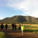 Welcoming our Step Into Running participants to practice tonight-72 new #Flagstaff runners will hit the track! https://t.co/WVyFFXRWUq