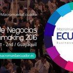 [BOLETÍN] Manabí y Esmeraldas, representadas por más de 40 empresas en #MacrorruedaEcuador https://t.co/eacDoqc4Yd https://t.co/1bi3K8n6bN