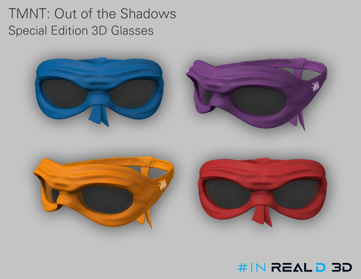 Retweet to enter to win 1/10 sets of #TMNT2 special edition RealD 3D glasses (US only)! Cowabunga dude! https://t.co/vk8ehuSLTW