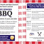 June is Seniors' Month in Ontario. Celebrate with us at our FREE Seniors BBQ. @OntSeniors #VibrantSeniors https://t.co/L1JgQd7e5o