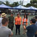 Ministra @susana_du realiza recorrido por albergue definitivo en San Isidro #Manabí https://t.co/vhiRTp4xVE