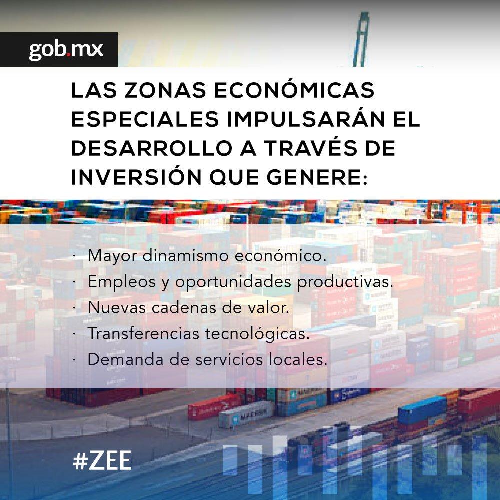 Actualmente existen más de 4 mil Zonas Económicas Especiales #ZEE en 130 países. https://t.co/IUsiqUjZHa