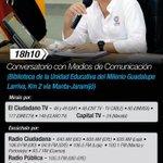 18H10 | #ConversatorioMedios junto al Presidente @MashiRafael en #Manabí. Míralo por https://t.co/j2C1AJvGNO https://t.co/6AUKEHtqQ5
