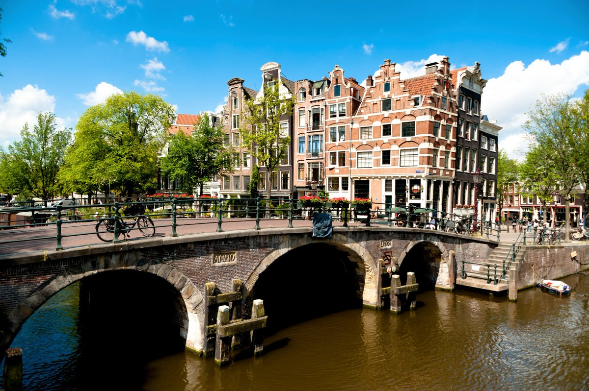 One of the best ways to explore Amsterdam? Cruise through one of its 165 canals: