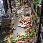 #ReporteRed Así se encuentra el Supermercado en Esquipulas tras el sismo de 4.4 grados. #Nicaragua #Sismo https://t.co/xGICATNbks