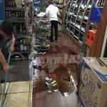 (@OscarOrtizTN8) #UltimaHora #Nicaragua Así quedo el establecimiento Stop and Go en carrt. #Masaya https://t.co/8AozADOWob