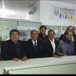 Junto al alcalde Soria inaugurando la farmacia comunal popular https://t.co/TwSBVeLEts