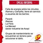 Situacion del servicio energía al norte de #Calico @elpaiscali @EnterateCali @adncali @Caracol_Cali @TwiterosCali https://t.co/67XhIbp0xW