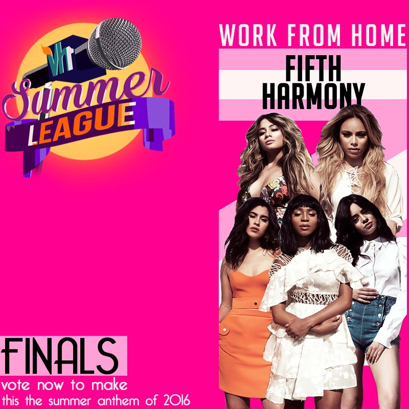 #Vh1SummerLeague FINALS contender 1 is @FifthHarmony! RT and LIKE this tweet to make them win Summer League!! https://t.co/cw0Q0hZ61A