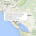 #Nicaragua: Una serie de fuertes sismos sacudió #Managua la tarde de hoy >>> https://t.co/sGdbFI3QWb https://t.co/fr60mo8Iiq